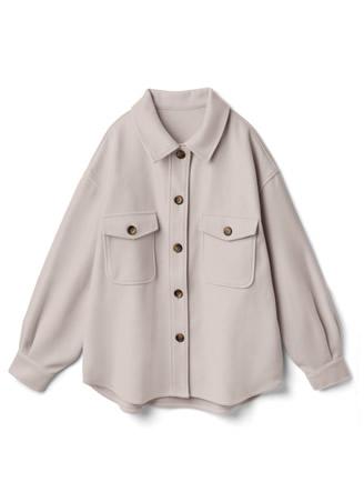 白石麻衣 オーバーサイズフェイクウールジャケット