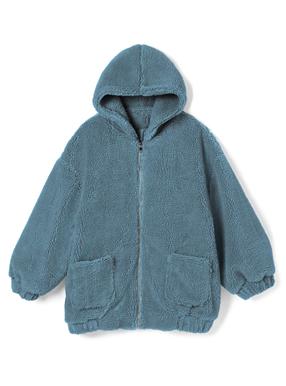 フーディボアジャケット