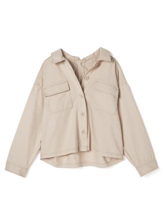 ポケットツイルシャツジャケット
