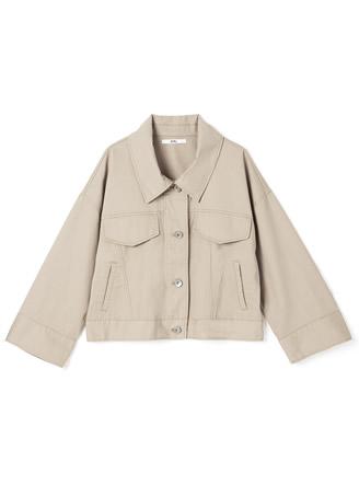 ワイドスリーブツイルジャケット