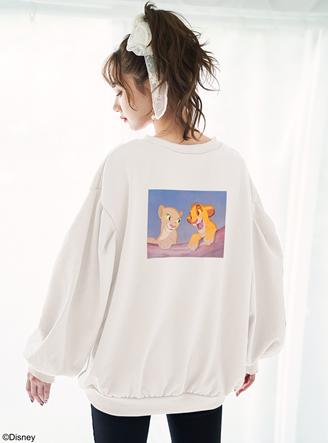 <GRL> ディズニー ライオン・キング /ルーズスウェット
