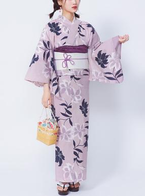 山下美月(乃木坂46)4点セットモダン百合浴衣