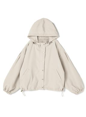 ドロストフード付きジャケット