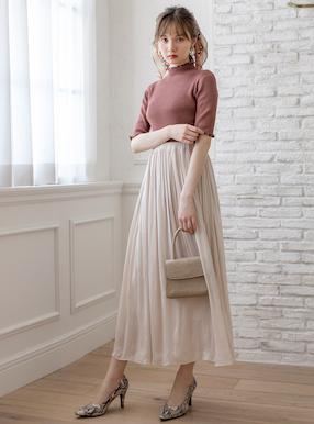 ギャザーフレアスカート
