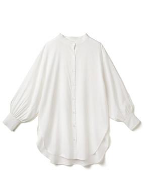 バンドカラーオーバーサイズシャツ