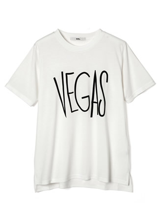 VEGASロゴTシャツ
