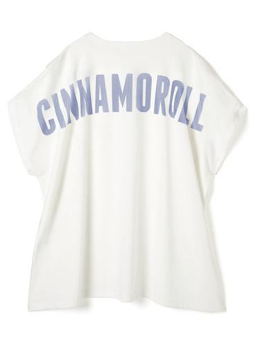 サンリオコラボ シナモロールビッグシルエットTシャツ