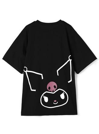 サンリオコラボ クロミビッグプリントルーズTシャツ
