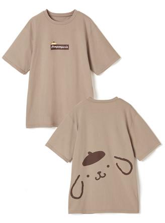 サンリオコラボ ポムポムプリンビッグプリントルーズTシャツ