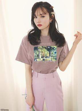 GRL ディズニープリンセスシリーズ 白雪姫/プリントTシャツ