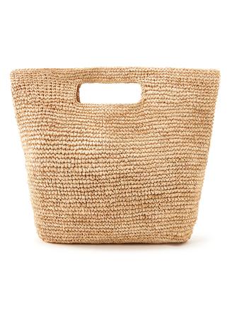ビッグ編みトートバッグ