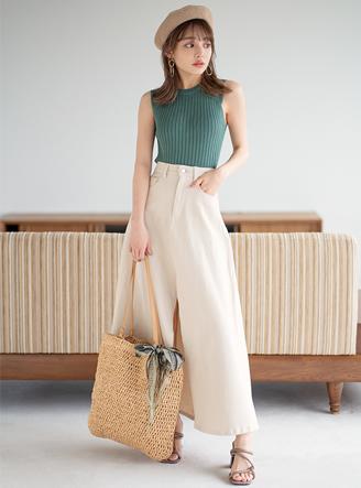 編み込みペーパートートバッグ