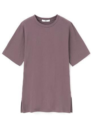 バックロゴオーバーサイズコットンTシャツ