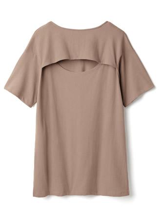 バックカットデザインTシャツ