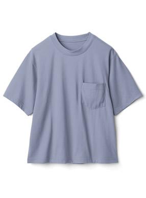 胸ポケット付きベーシックTシャツ