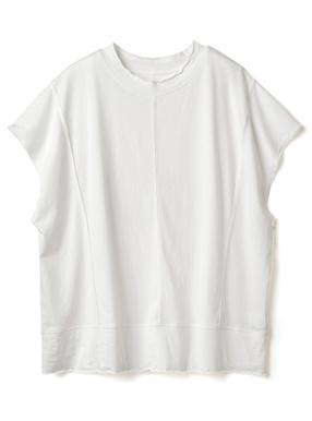アウトシームバックスリットTシャツ