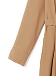 リボン付きダブルポケットジャンプスーツ