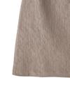 インパン裏地付き台形ミニスカート
