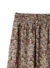 小花柄フロントスリットタイトスカート