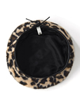 レオパードベレー帽