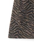 インパン付きゼブラ柄台形スカート