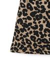 インパン付きレオパード台形スカート