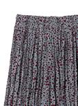 ダルメシアン柄ランダムプリーツスカート
