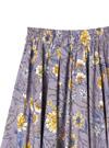 花柄フレアスカート