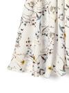 花柄イレヘムフレアスカート