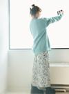 アニマル柄ロングスカート