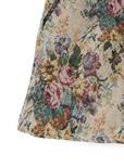 ゴブラン織花柄ショートパンツ