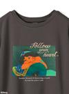 GRL ディズニープリンセスシリーズ ジャスミン/プリントTシャツ