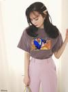 GRL ディズニープリンセスシリーズ ベル/プリントTシャツ