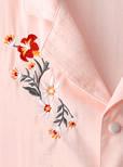 花柄刺繍入りブラウス