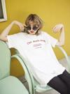 オーバーサイズロゴTシャツ