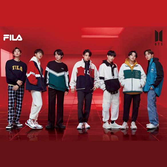 FILA BTS着用モデルが発売開始!