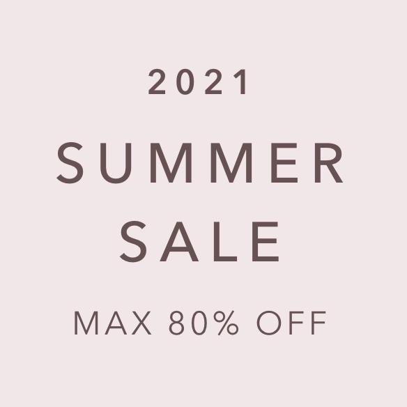 MAX80%OFF SUMMERSALE開催中♪